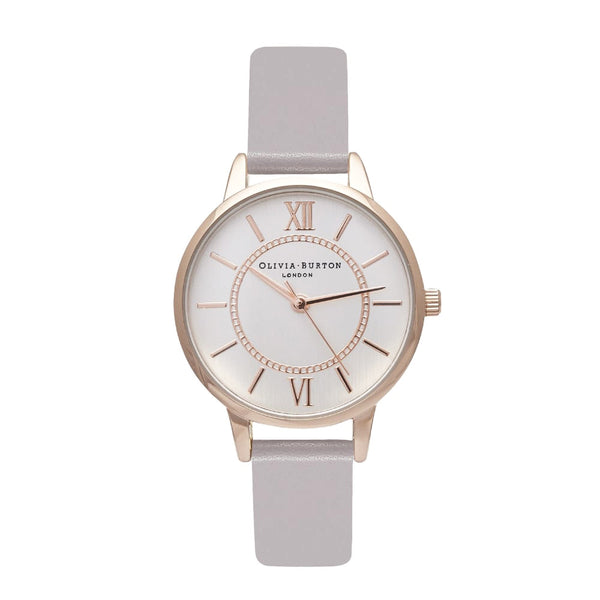 MIDI WONDERLAND SILVER DIAL IN LILAC