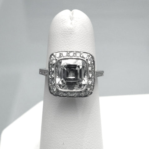 Near Flawless Tiffany Diamond Ring - Pre-Owned