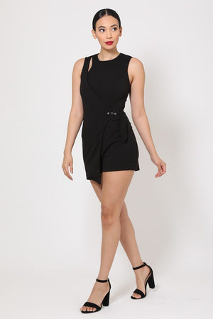 Black Fashion Romper