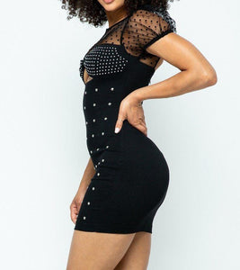 Stretchable Tight Mini Dress