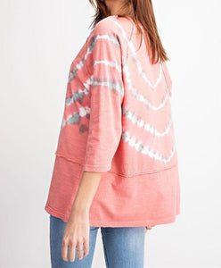 Special Washed Boxy Cotton Slub Top