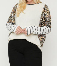 Load image into Gallery viewer, Cheetah Print  Long Sleeve Top