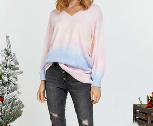 Multi Sherbet Tie Dye Sweater