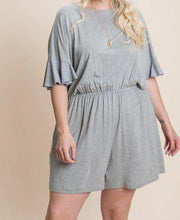 Load image into Gallery viewer, Solid Rayon Modal Mini Romper