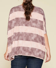 Load image into Gallery viewer, Stripe Printed Pleated Top