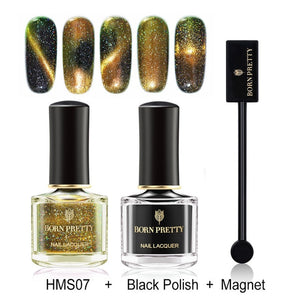 3D Cat Eye Nail Polish Set 6ml