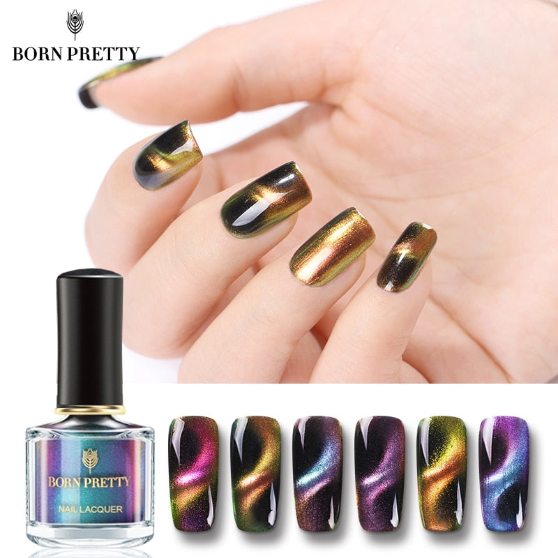 3D Cat Eye Nail Polish Magnetic 6ml