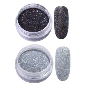 Gradient Shiny Nail Glitter Set