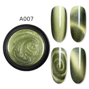 Magnetic 5D Cat Eye Nail Gel