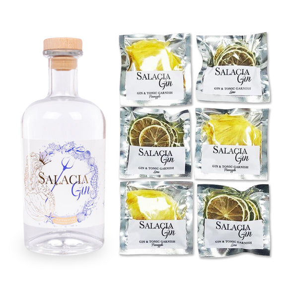 Salacia Gin and Garnish Combo