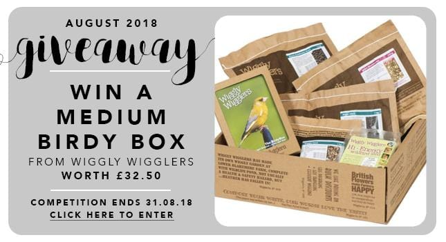 GBF Giveaway August 2018: A Medium Birdy Box!