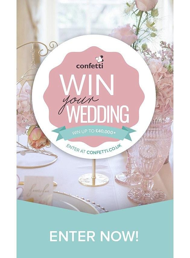 Win Your Dream Wedding with Confetti.co.uk (Including Our British Wedding Flowers!)