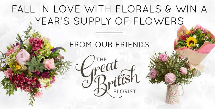 Win a year's worth of British Flowers from us with EAST Clothing