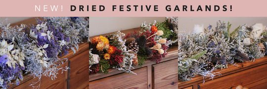 This Christmas, Adorn your Hearth with Dried Flowers!
