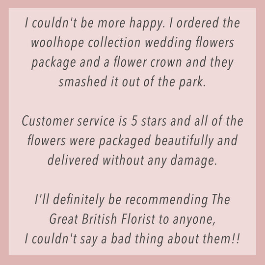 Thanks for these lovely reviews of our fresh & dried flowers