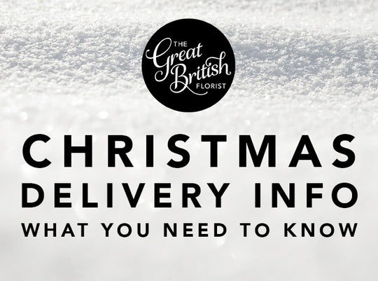 Christmas Flowery Delivery Info :)