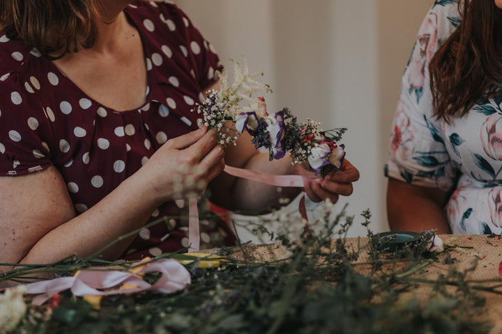 Flower Workshops - A Christmas gift for the person who has everything ☺