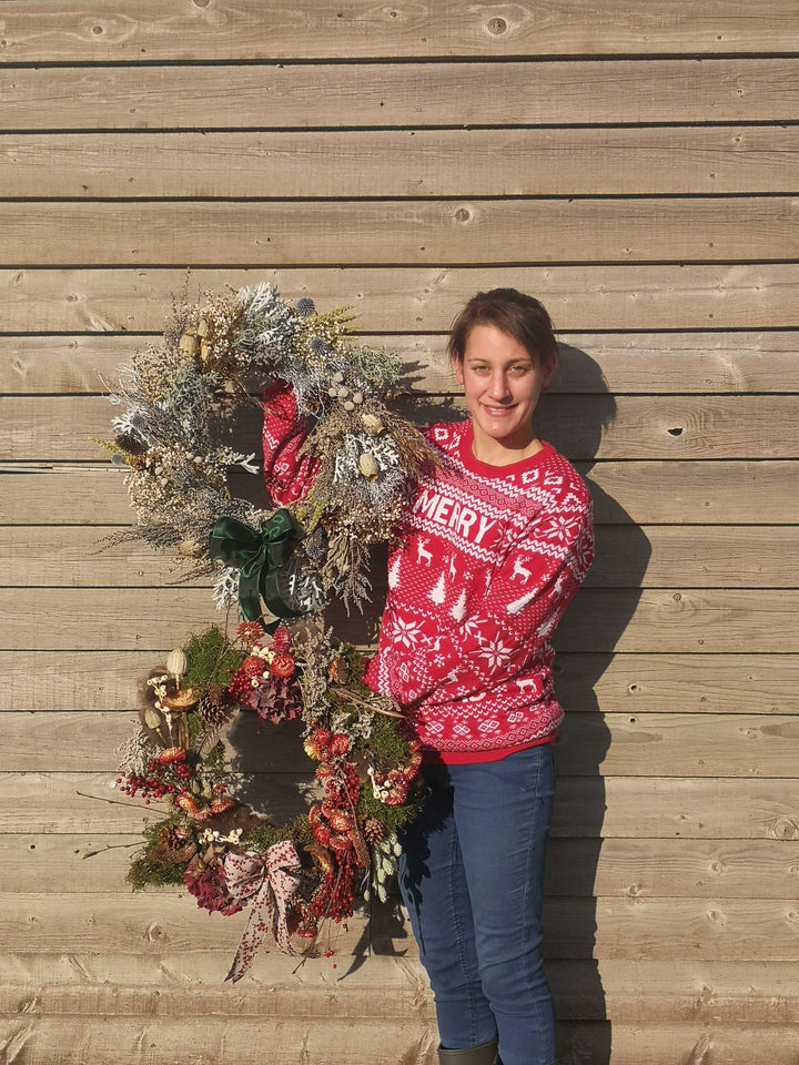 Just 39 Hours Left to Save £5 on your Festive Dried Wreaths!