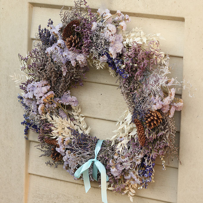 Send our Underneath the Mountain Festive wreath - next-day, nationwide to a loved one!