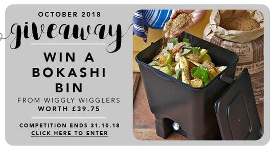 GBF Giveaway October 2018: A Bokashi Composting Bin