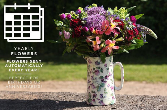 New from the Great British Florist: A Yearly Flower subscription