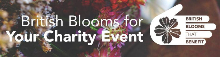 British Blooms for your Charity Event!