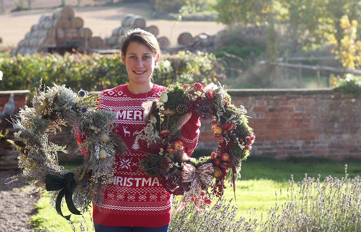Sorry for the #humblebrag but our Dried Festive Wreaths are the best ever!