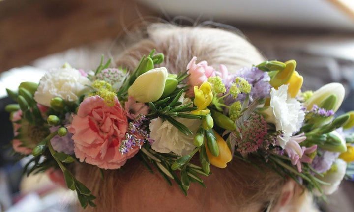 Book your place on our May Flower Crown Workshop Now!