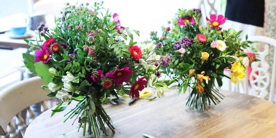 Book your place on our January Make your own Winter Posy Workshop Now!
