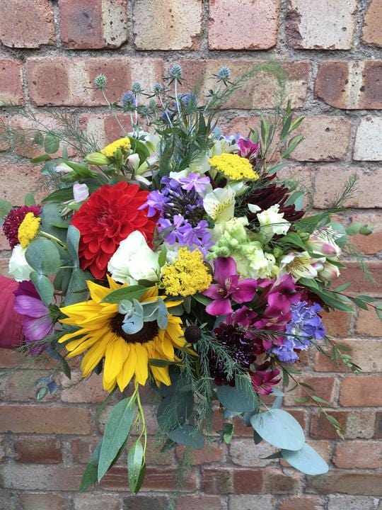 Wedding Highlight - 100% British Summer Flowers for a Norfolk Wedding.