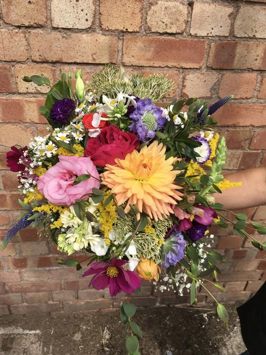 Wedding Highlight - Festival Flowers for a Malvern Hills Wedding!