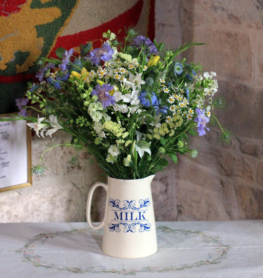 British Flower Jug|||