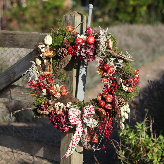 We think you'll love Our Feast of Stephen Dried Wreath!