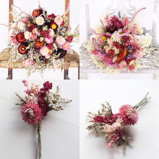 Dried Wedding Flowers are a MUST for your special day!