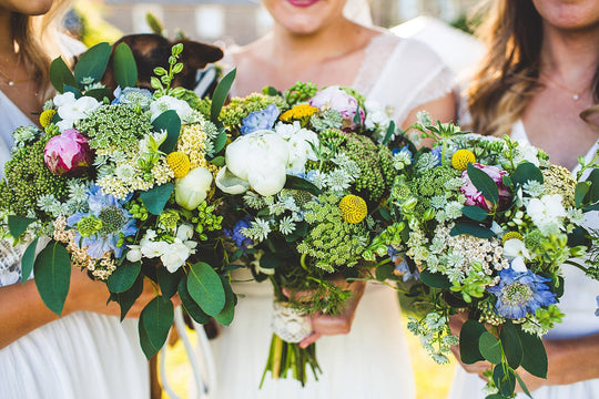 How to make your flowers go further on your Wedding Day…