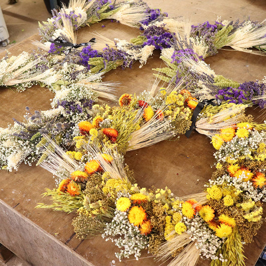Looking for Dried Wreaths or the latest news from our Floristry?
