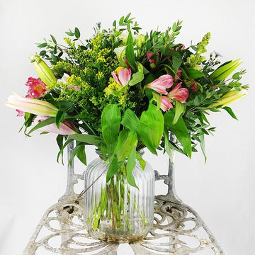 Hand-Tied Seasonal Garden Bouquet - Mother's Day Pre-Order