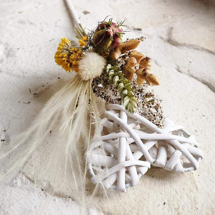 Flower Girl Wand - Bring Me Sunshine - Dried Flowers