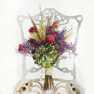 Wild Thing - Dried Flower Bouquet