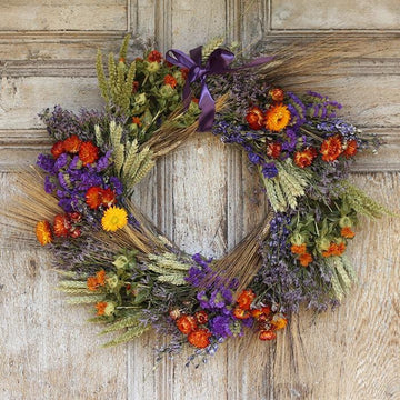 Vintage Country - Dried Flower Wreath