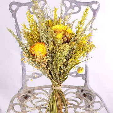 The Abbeydore Dried Flower Posy