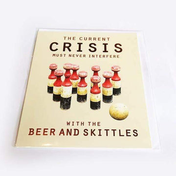 Beer and Skittles Gift Card