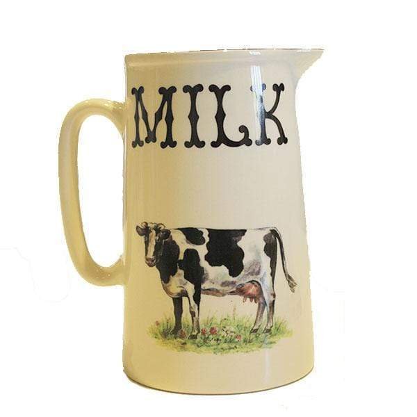 Black Cow Pottery Jug