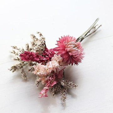 Buttonhole - Spring Blossom - Dried Flowers