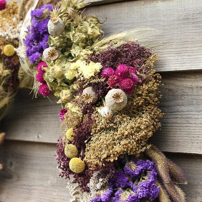 The Moccas - Dried Flower Wreath