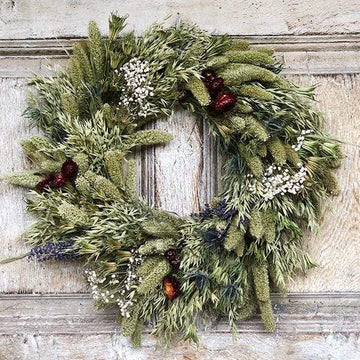 Country Charm - Dried Flower Wreath