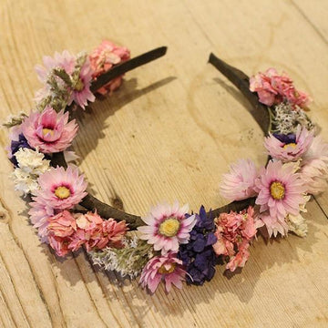 Flower Headband - Dried Flowers