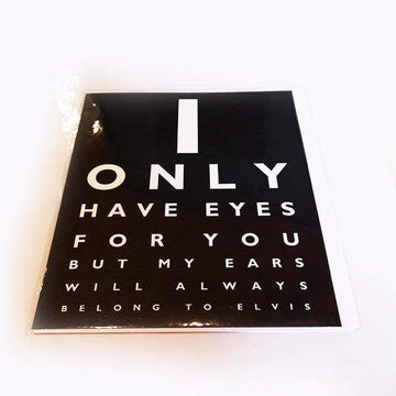 I Only Have Eyes For You Gift Card