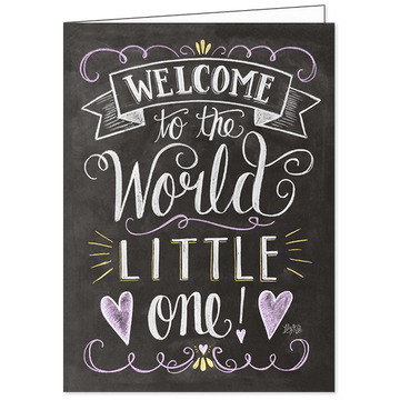 Lily and Val Welcome Little One Gift Card