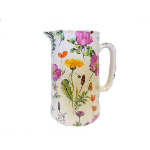 Meadow Flowers Pottery Jug